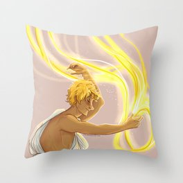 Solace - Dance with light Throw Pillow