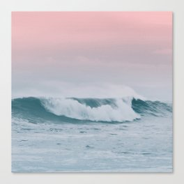 Pale ocean Canvas Print