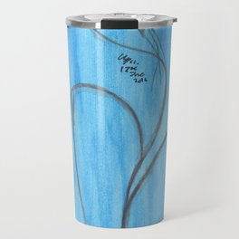 So stop fighting. Let the noise go white. Let it be like water. And float. Travel Mug