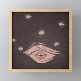 Hush Framed Mini Art Print