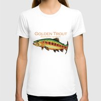 trout T-shirts featuring Golden Trout by MoosePaw