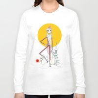 jack skellington Long Sleeve T-shirts featuring Jack Skellington  by Future Illustrations- Artwork by Julie C