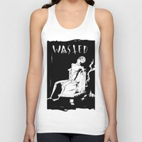 wasted rita Tank Tops featuring WASTED by Olivier Carignan