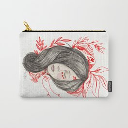 Red leafs Carry-All Pouch