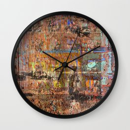 Itchy Hands No. 1 Wall Clock