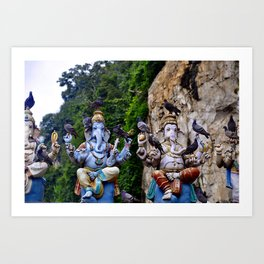 Batu Caves Art Print