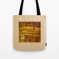 geology Tote Bags featuring Geology 3 by Patricia Howitt