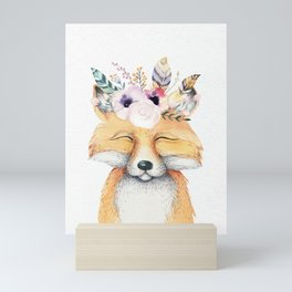 Forest Fox by Nature Magick Mini Art Print