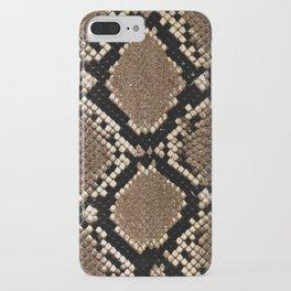 Faux Python Snake Skin Design iPhone Case