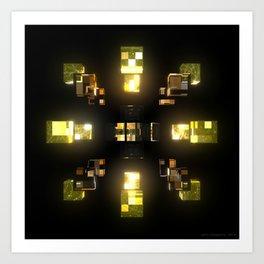 My Cubed Mind: Frame 100 Art Print