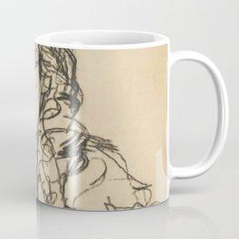 """Egon Schiele """"Mädchenkopf (Frau Sohn)"""" Coffee Mug"""