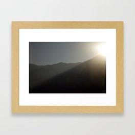 Mountains #2 Framed Art Print