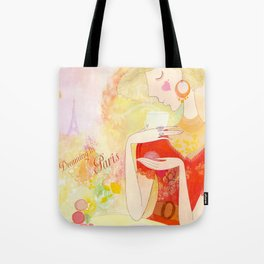 Dreaming in Paris  Tote Bag
