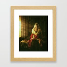 Instinctive Delivery Framed Art Print