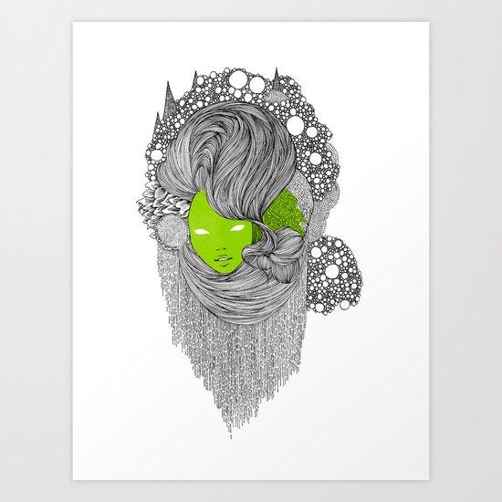 oOo Art Print