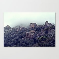 The Climb to Wineglass Bay, Tasmania Canvas Print