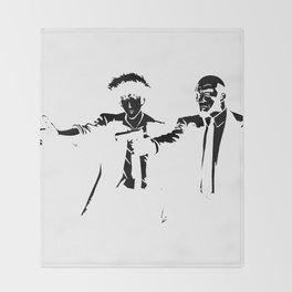 Cowboy Bebop - Spike Jet Knockout Black Throw Blanket