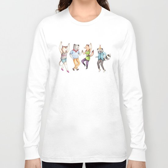 Party Animals Long Sleeve T-shirt