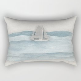 Floating Ship Rectangular Pillow