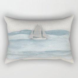 Floating Ship Rectangular Pillow