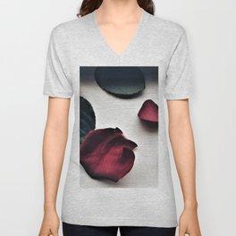 Fallen Roses Unisex V-Neck