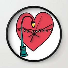 Love for Lake Merritt Wall Clock