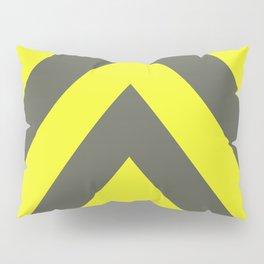 Chevrons warning sign Pillow Sham
