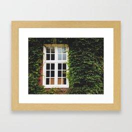 Ivy Wall in London Framed Art Print