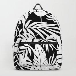 Urban Jungle Black Backpack