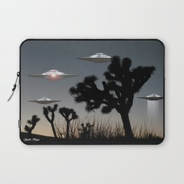 Joshua Tree Space Invasion by C.Reyes Laptop Sleeve