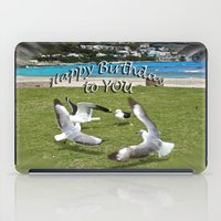 happy birthday iPad Cases featuring Happy Birthday by CrismanArt