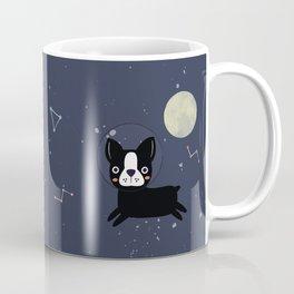 Boston Terrier In Space Coffee Mug