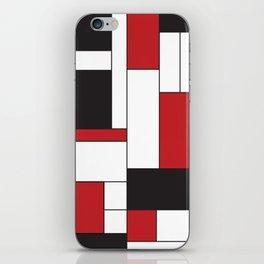 Geometric Abstract - Rectangulars Colored iPhone Skin