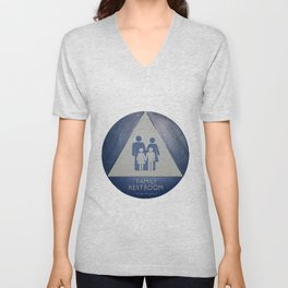 Family Room Unisex V-Neck