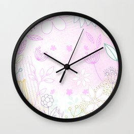 When I Saw You, I Fell in lLove Wall Clock