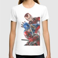 heroes T-shirts featuring Heroes  by Molly Thomas