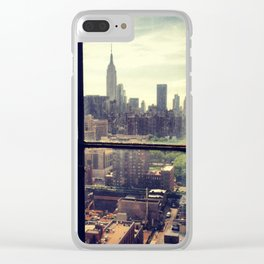 i love NY Clear iPhone Case