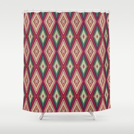 Etnic triangle Shower Curtain