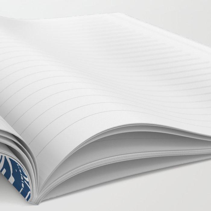 Blue Mandala Pattern Notebook