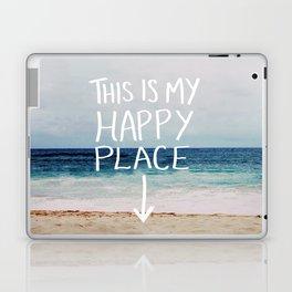 My Happy Place (Beach) Laptop & iPad Skin