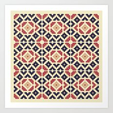 Midcentury Pattern 10 Art Print
