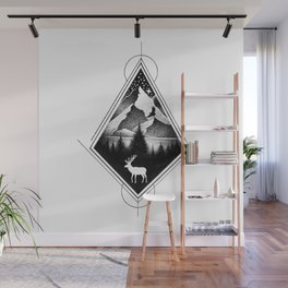 NORTHERN MOUNTAINS IV Wall Mural