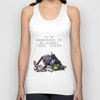 gamer Tank Tops featuring Gamer  by Ioana Muresan
