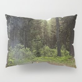 Backpacking Camp Fire Pillow Sham