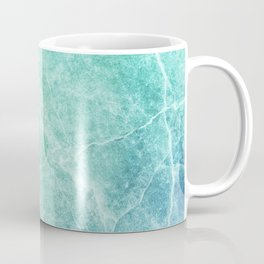 Abstract marble pattern. Closeup surface art tone. Colorful marble stone wall texture background Coffee Mug
