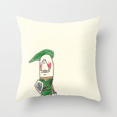 Manatee as Link Throw Pillow