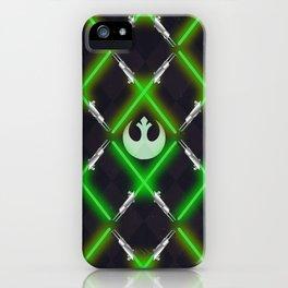 The Light Side Lattice iPhone Case