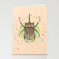 insect Stationery Cards featuring Insect I by dogooder