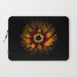 Backyard Flowers 69 Color Version Laptop Sleeve