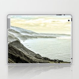 Somewhere over Big Sur. Laptop & iPad Skin